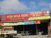 Tôn Hoa Sen chi nhánh Hà Tĩnh